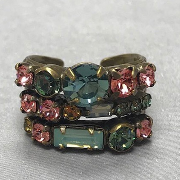 Sorrelli Jewelry - Sorrelli Triple Band Ring, NWT
